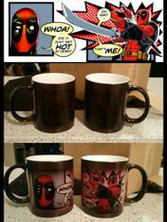 Deadpool Mug Comic Edit 2015 by kristinbowles