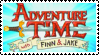 Adventure Time Stamp by Murder--Machine
