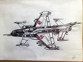 MSW Szakal by TrocheUmiemRysowac