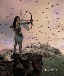 The Huntress by Julianez