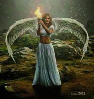 Angel of Light by Julianez