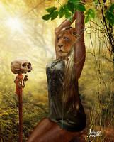 Lioness woman captured by Julianez