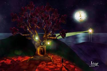 Tree house by Julianez