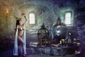 Room witchcraft by Julianez