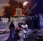 The imprisoned princess by Julianez