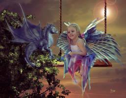 Magical friends by Julianez