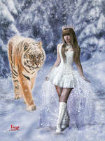 Queen of perpetual snow by Julianez