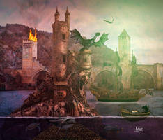 Flying on Fantasy by Julianez