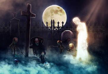 The awakening of the dead by Julianez