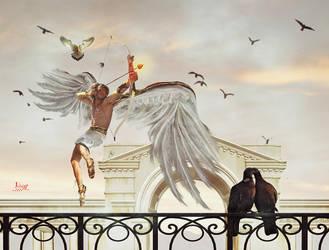 Cupid love arrows by Julianez