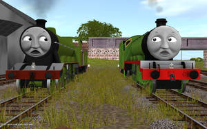 Railway Series meets Television Series: Henry MKI by Rose-Supreme