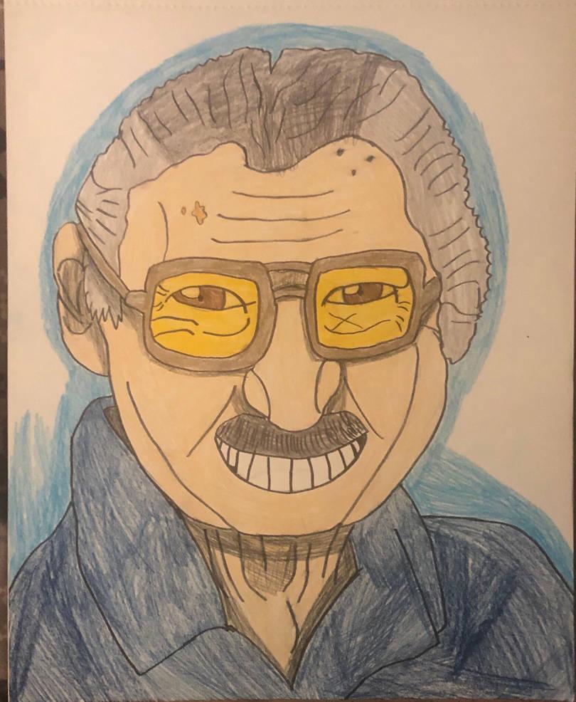 Stan lee  by Dreadsmile26