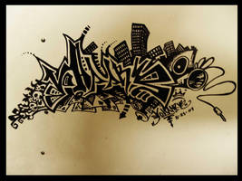 graffiti by yraahov