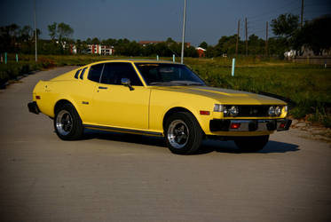 1977 Yellow Celica by 3vil-Grin