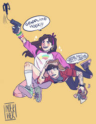 mystery teens!! by noerher