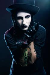 Marilyn Manson Cosplay by Reijii-Kun