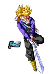 Trunks del Futuro Super Saiyan by ChronoFz