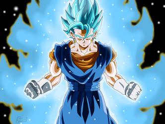 Vegetto Super Saiyan Blue (Wallpaper) by ChronoFz