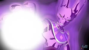 Lord Beerus (Poster) by ChronoFz