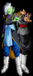 Goku Black y  Zamasu by ChronoFz