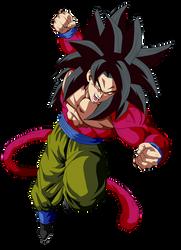 Goku Super Saiyan 4 by ChronoFz