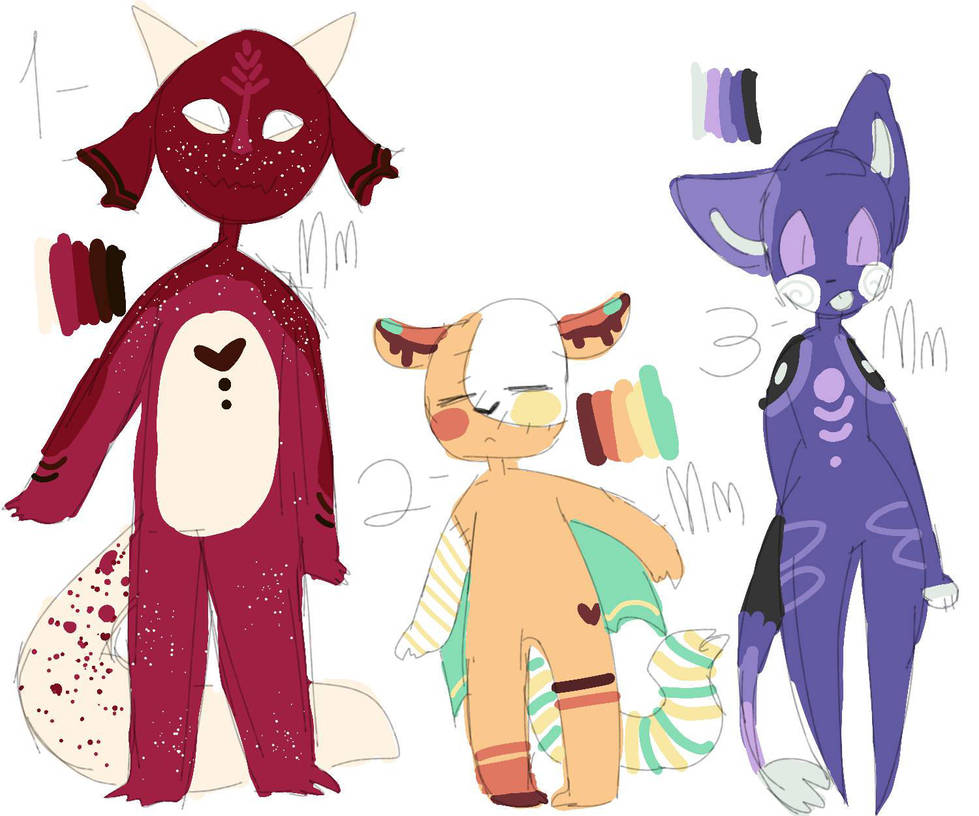 Furry Adoptables! by TeaSeal