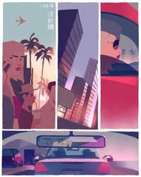 LA by chuwenjie