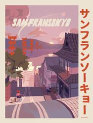 San Fransokyo by chuwenjie