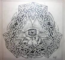 Knot-work design by Tattoo-Design
