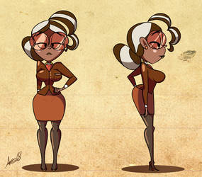 Ms. Cocoa Reference Sheet by AKB-DrawsStuff