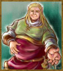 Heavy weight elf by miminaga-motono