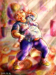 Dancing cute BBA by miminaga-motono
