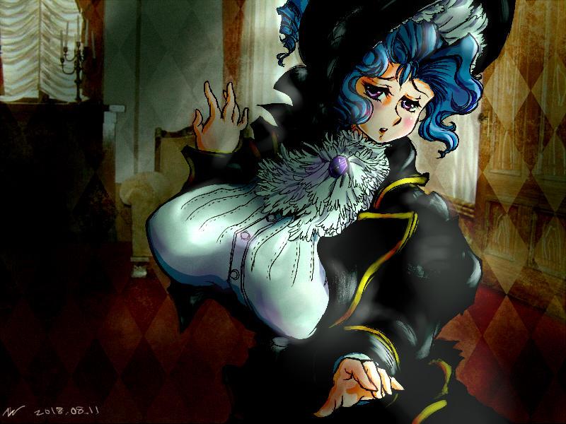 The widow leads a lonely life. by miminaga-motono