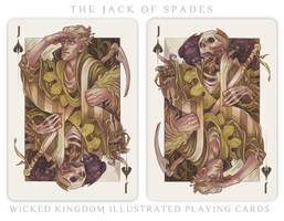 Card Art: The Jack of Spades by wylielise