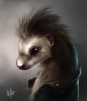 Portrait of an ermine by Silverfox5213