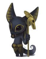 Lil Anubis by Silverfox5213