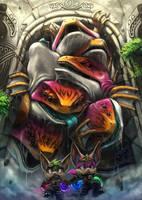 Egg Thieves by Silverfox5213