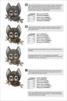 Wolfy portrait tutorial 2 by Silverfox5213