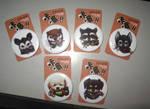 Badges by Silverfox5213