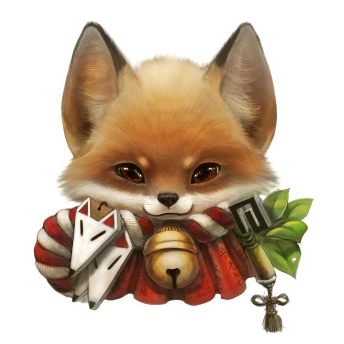 Fox portrait by Silverfox5213