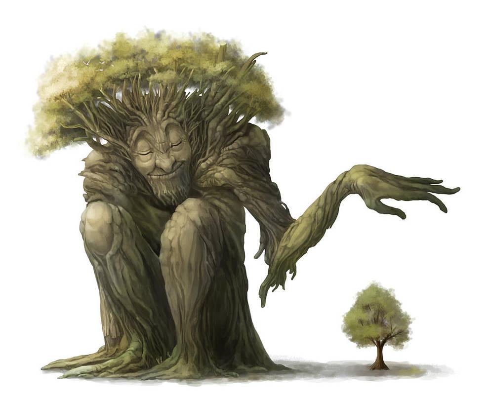 Tree giant by Silverfox5213