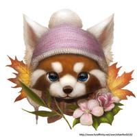 Red Panda by Silverfox5213