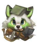 Commission for Glitchwolf by Silverfox5213