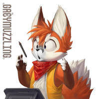 Greymuzzling by Silverfox5213