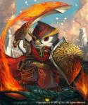 Penguin Warrior (Advance) by Silverfox5213