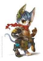 Hybrid Kitty by Silverfox5213