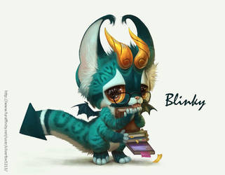 Blinky by Silverfox5213