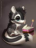 Birthday Schnolf by Silverfox5213
