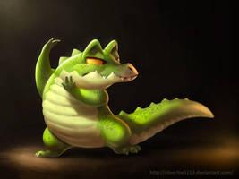 Tango Gator by Silverfox5213
