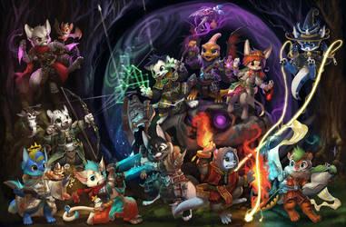 League of Furries by Silverfox5213